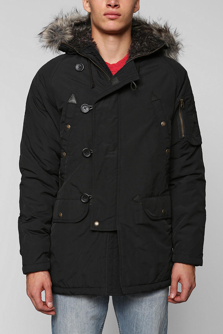 Urban Outfitters I Spiewak Sons Tompkins Jacket In Black