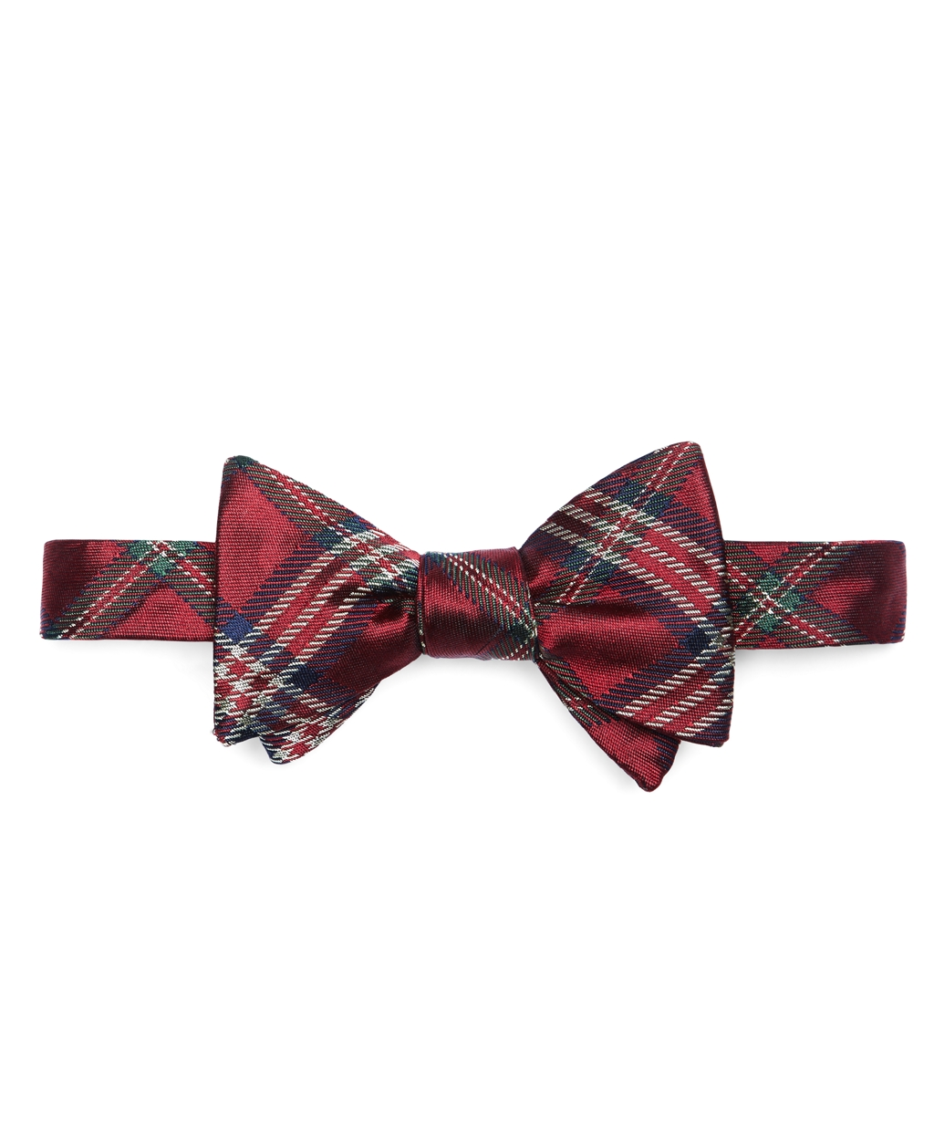 Brooks brothers Signature Tartan Bow Tie in Green for Men ...