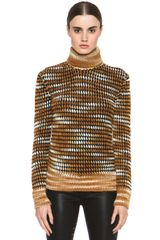 Missoni Multi Stripe Turtleneck - Lyst