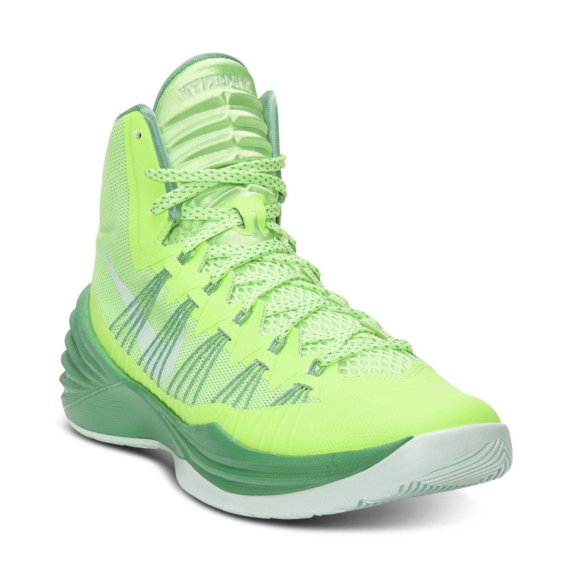 various colors fe9b0 6ceb3 ... get lyst nike hyperdunk basketball sneakers in green for men fc5ba d849e
