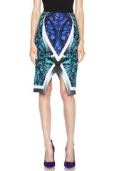Peter Pilotto Spiral Skirt - Lyst