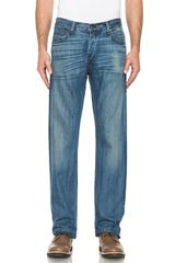 Rag & Bone Rb15x Mid Rise Slim Straight Fit Jeans - Lyst