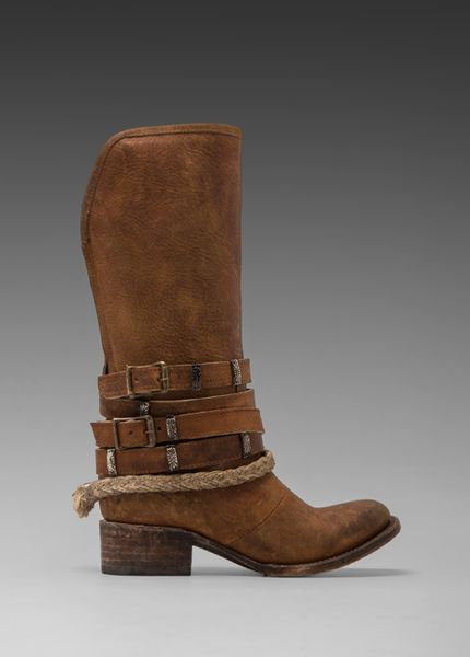 Steven By Steve Madden Freebird By Drover Boot in Tan in Brown (Tan)