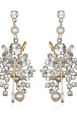 Tom Binns Pearls in Peril Earrings