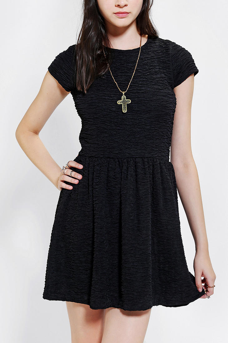 Urban Outfitters Kimchi Blue Sparkle Motion Fit Flare