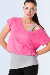 Victoria's Secret Vs Sport Crop Tee - Lyst