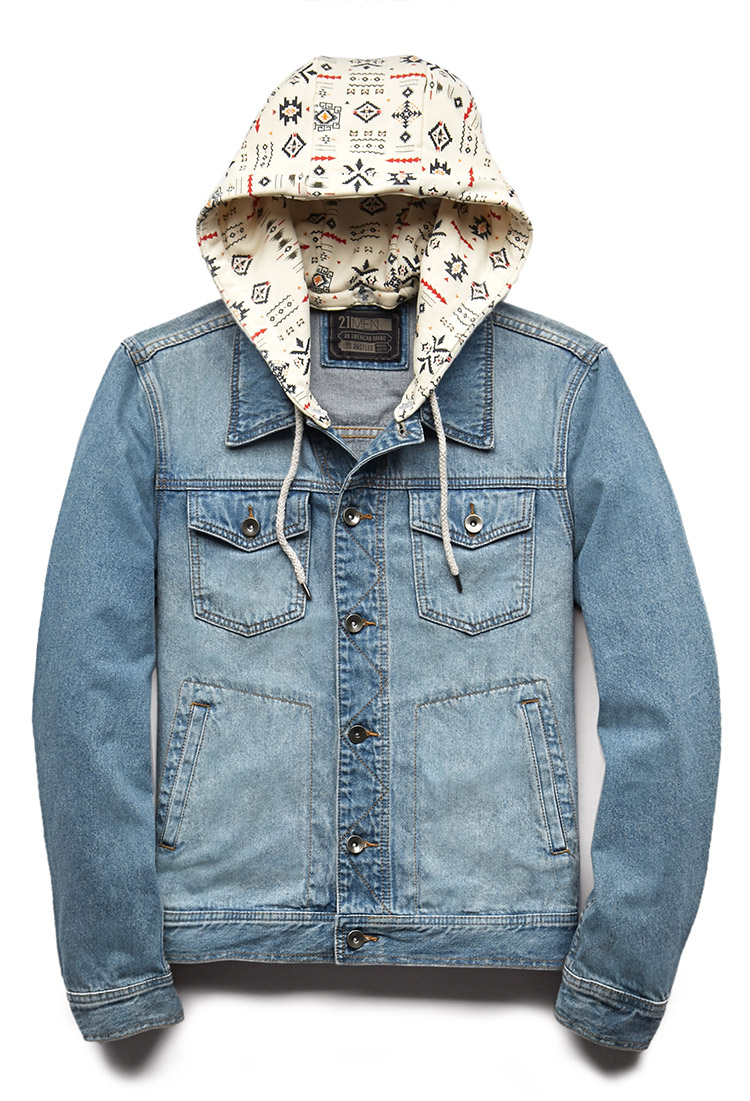 Blue Jeans Jacket For Men