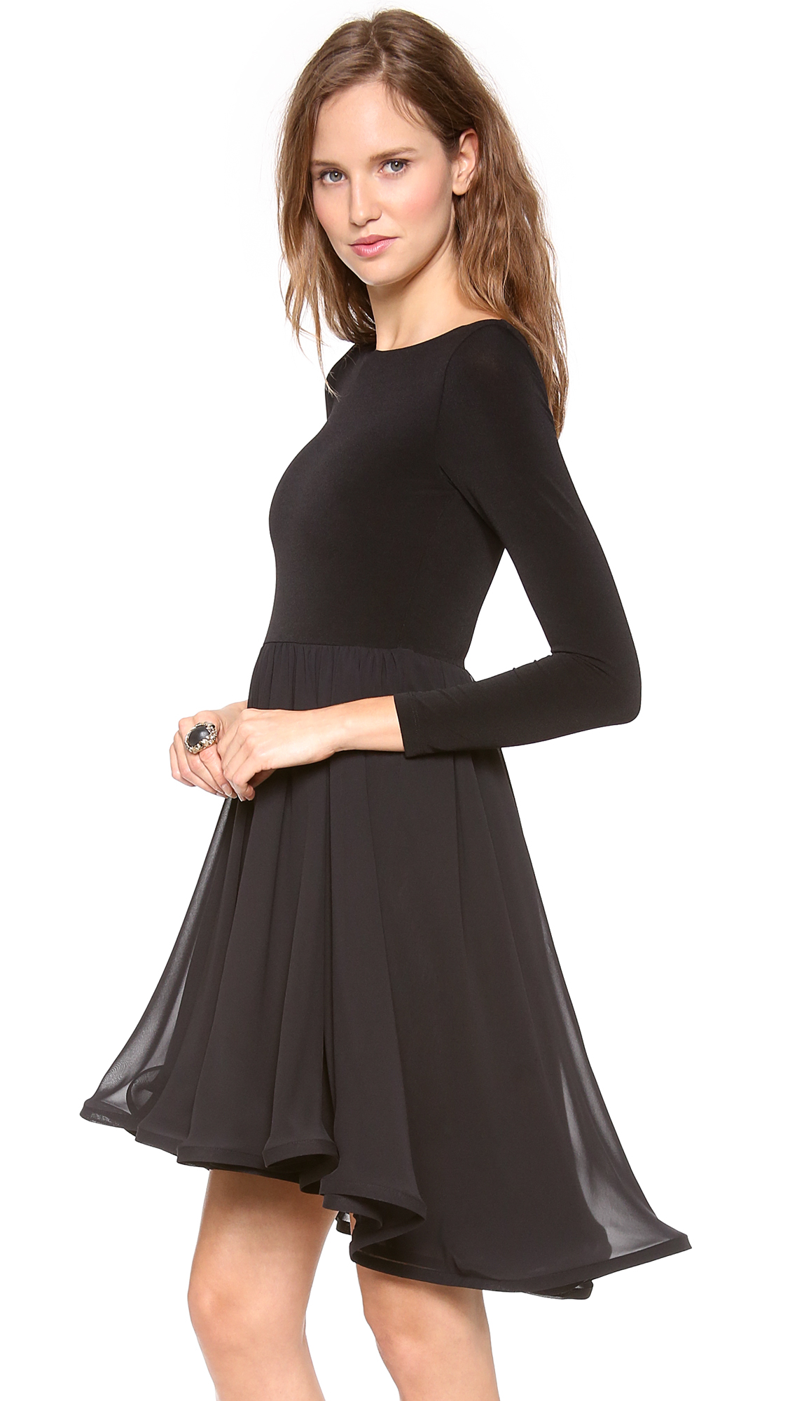 Alice And Olivia Black Dress