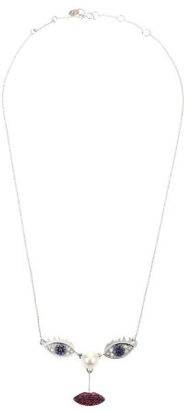 Delfina Delettrez Necklace - Lyst