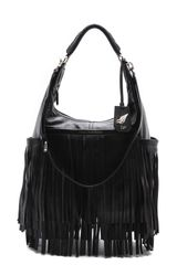 Diane Von Furstenberg Franco Fringe Leather Bag - Lyst