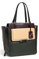 Diane Von Furstenberg Highline Leather Tote - Lyst