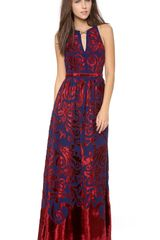 Free People Hedgemaze Maxi Dress - Lyst