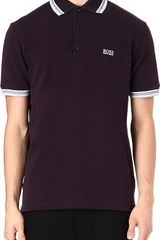Hugo Boss Paddy Basic Logo Polo Shirt - Lyst