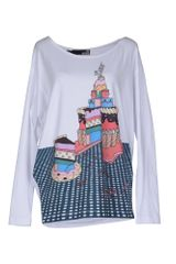 Love Moschino Long Sleeve Tshirt - Lyst