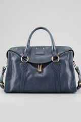 Marc Jacobs Wellington Fulton Large Satchel Bag Atlantic - Lyst