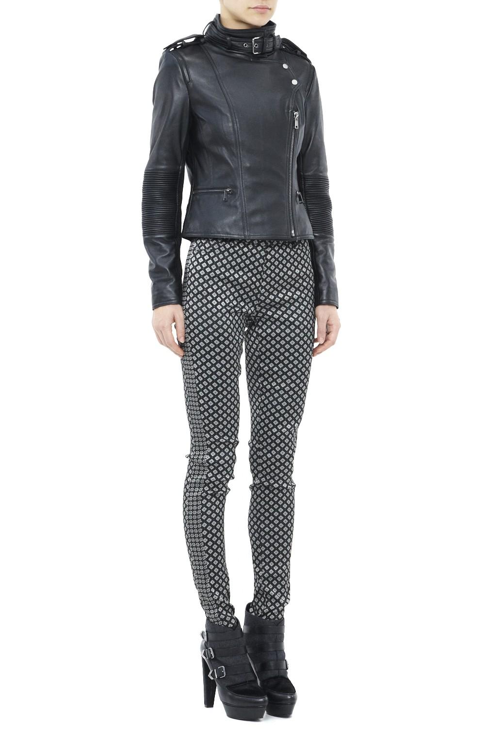 Nicole miller leather jacket
