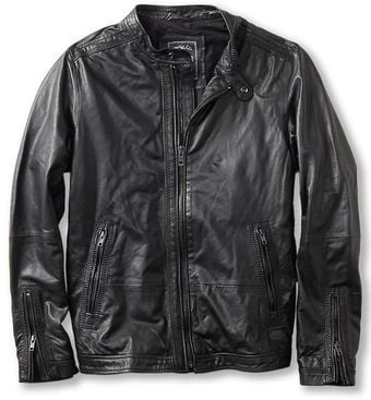 Diesel Lagnum Leather Jacket - Lyst