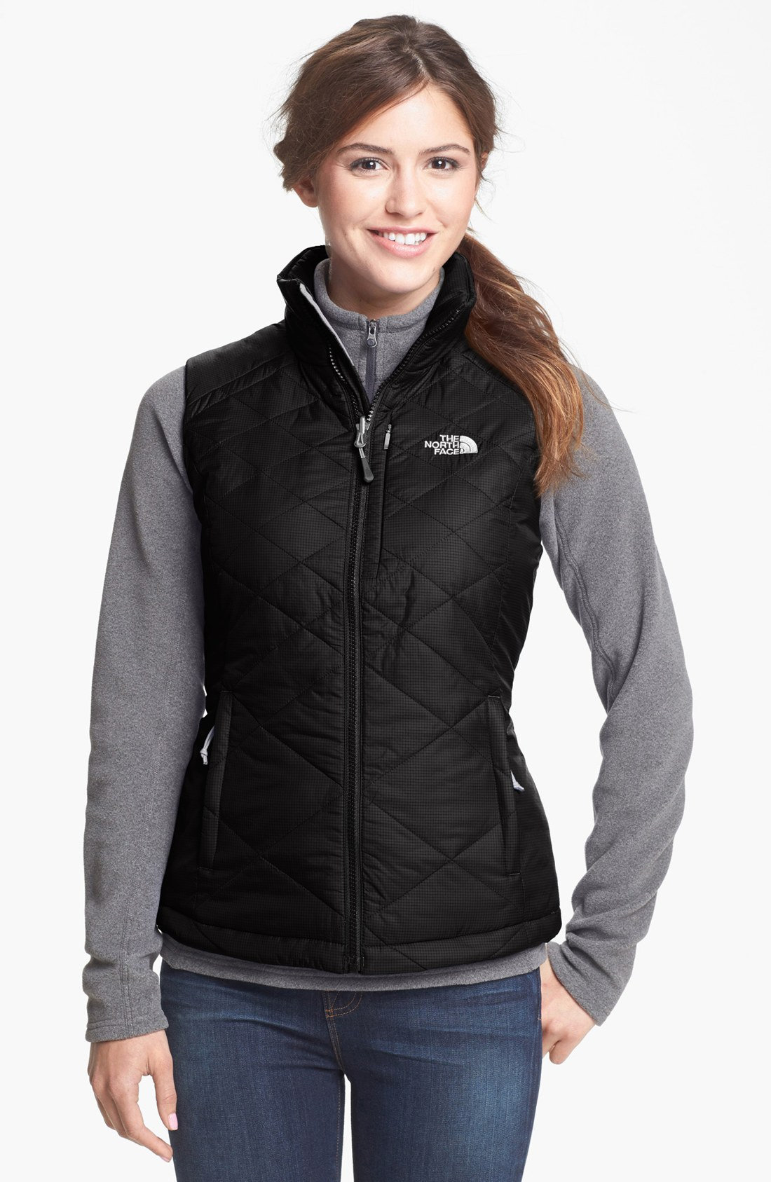 The North Face Red Blaze Vest In Black Lyst