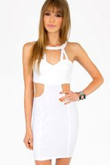Tobi Caged in Cut Out Dress - Lyst