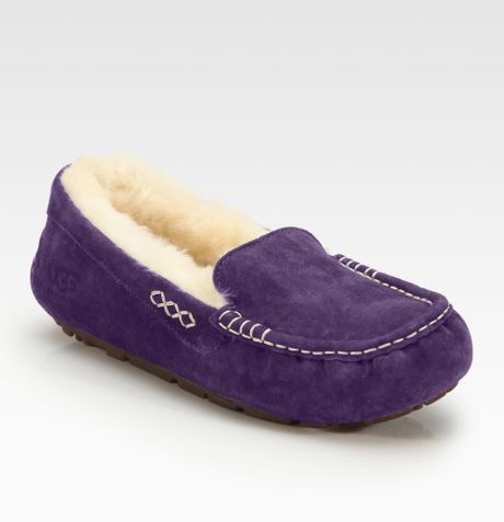 a3895a28887 Ugg Australia Ansley Suede Moccasin Slippers - cheap watches mgc-gas.com