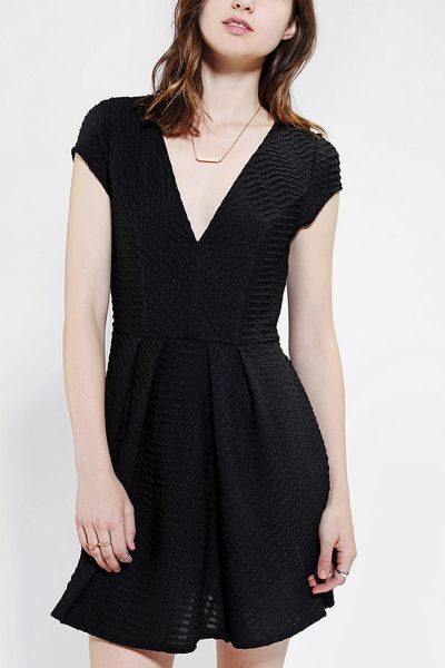 Urban Outfitters Silence Noise Digital Jacquard Fit Flare
