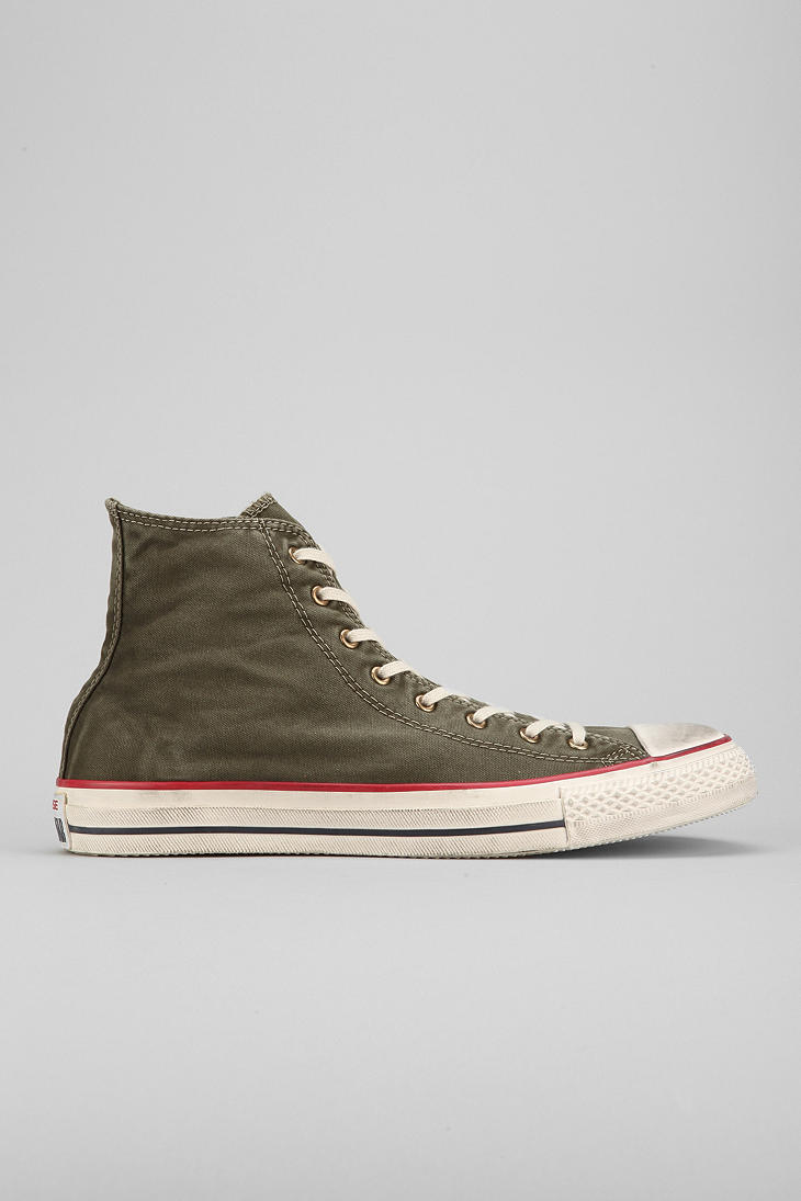 ae628d9ee254f Urban Outfitters Converse Chuck Taylor All Star Washed Hightop Mens ...
