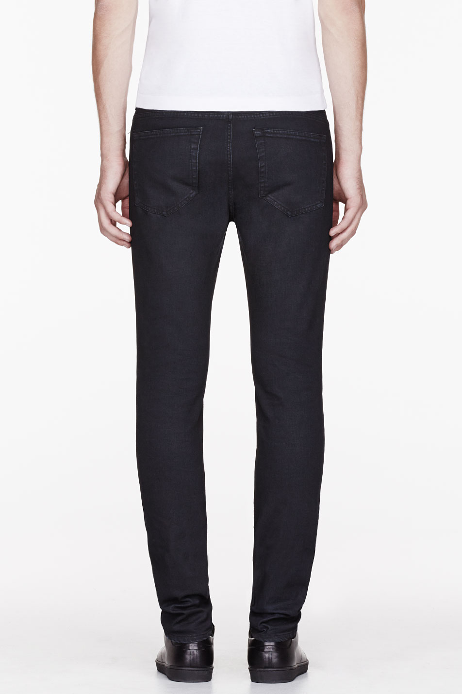 acne studios black ace sing jeans in blue for men lyst. Black Bedroom Furniture Sets. Home Design Ideas