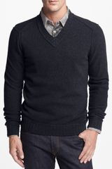 Boss Orange Kamil Vneck Wool Sweater - Lyst