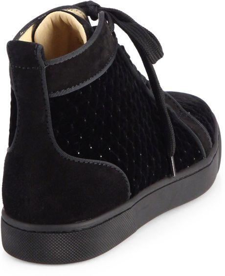 Christian Louboutin Sneakers Black Black Christian Louboutin