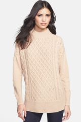 Joie Bryanne Cable Knit Sweater - Lyst