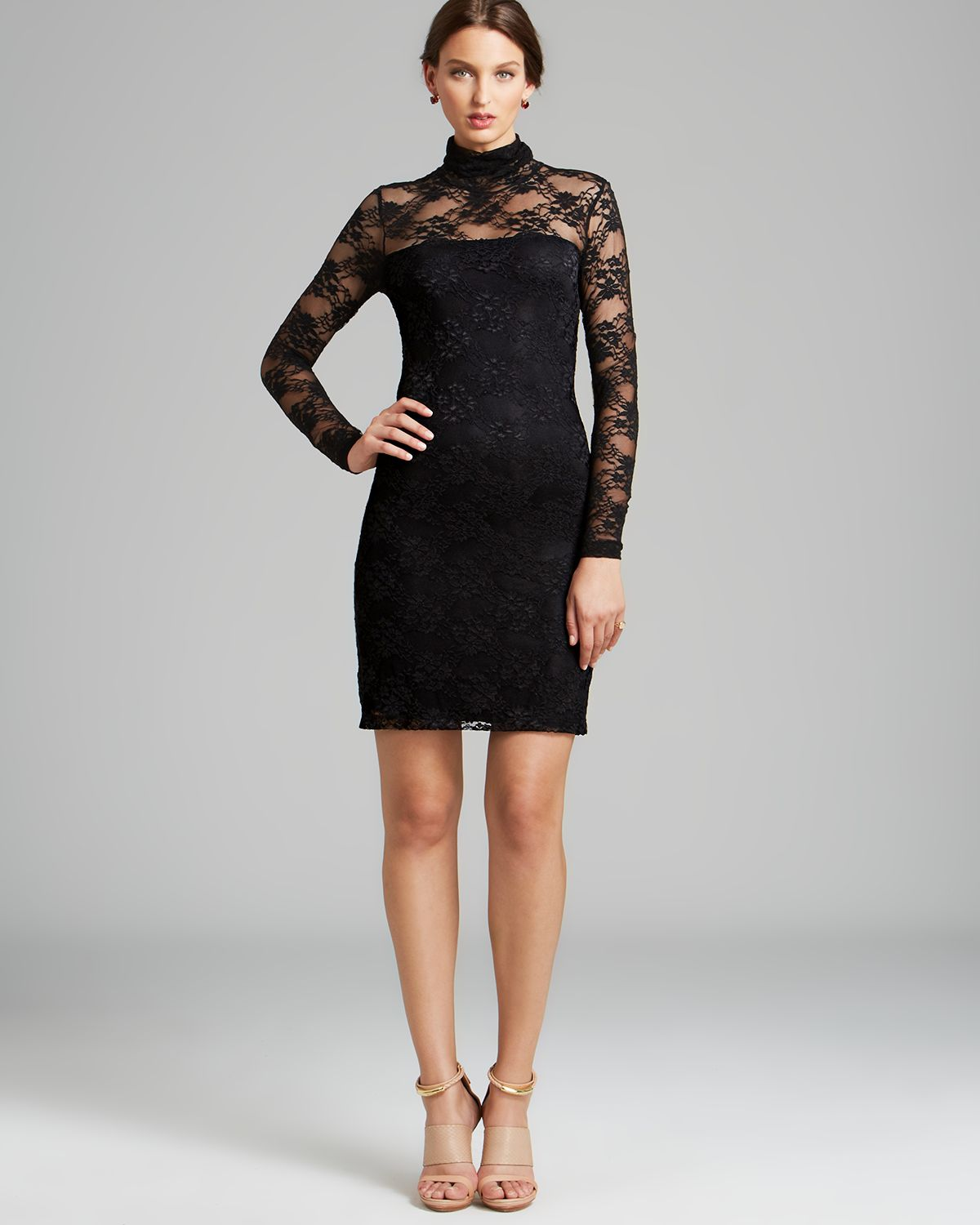 Free shipping BOTH ways on black lace turtleneck top, from our vast selection of styles. Fast delivery, and 24/7/ real-person service with a smile. Click or call