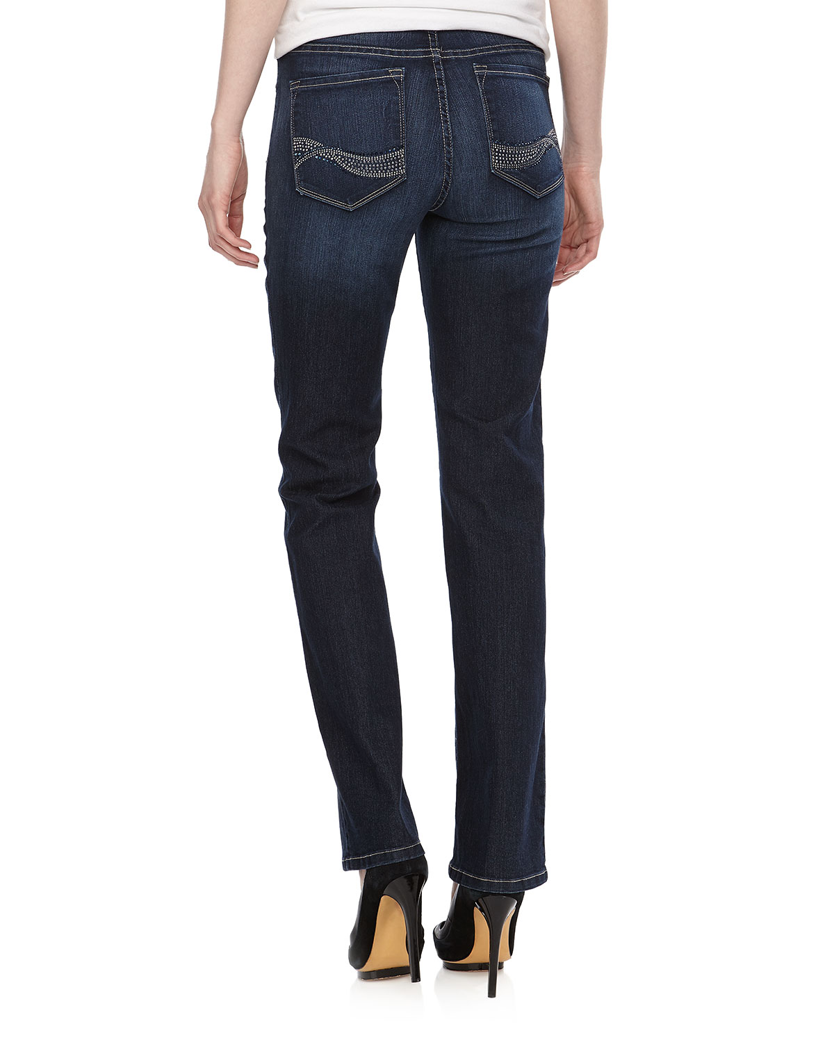 Lyst - Not Your Daughter'S Jeans Marilyn Embellished ... | 1200 x 1500 jpeg 155kB