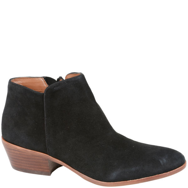 Sam edelman Suede Ankle Boots in Black | Lyst