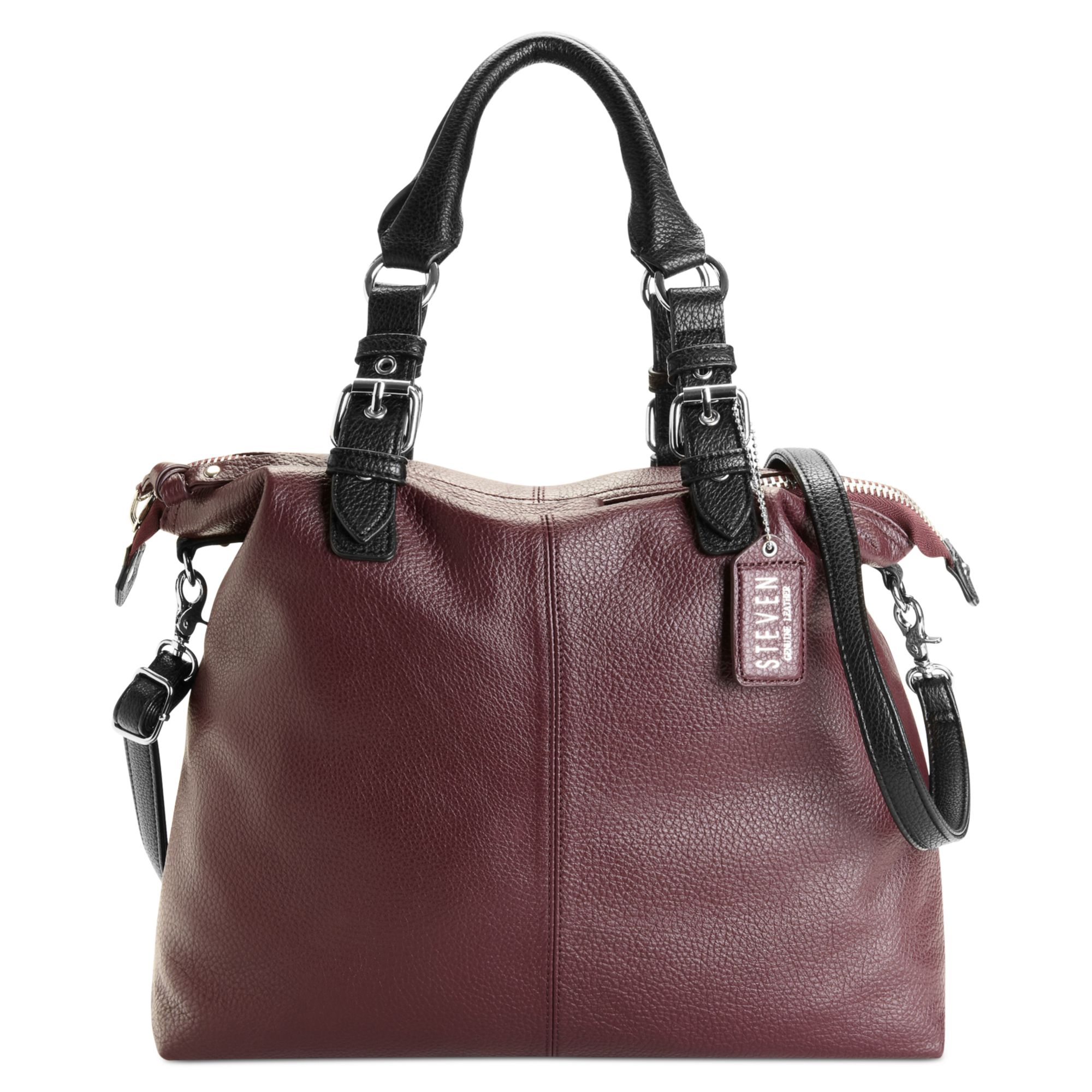 Steven By Steve Madden Handbag Tote in Purple (Aubergine)