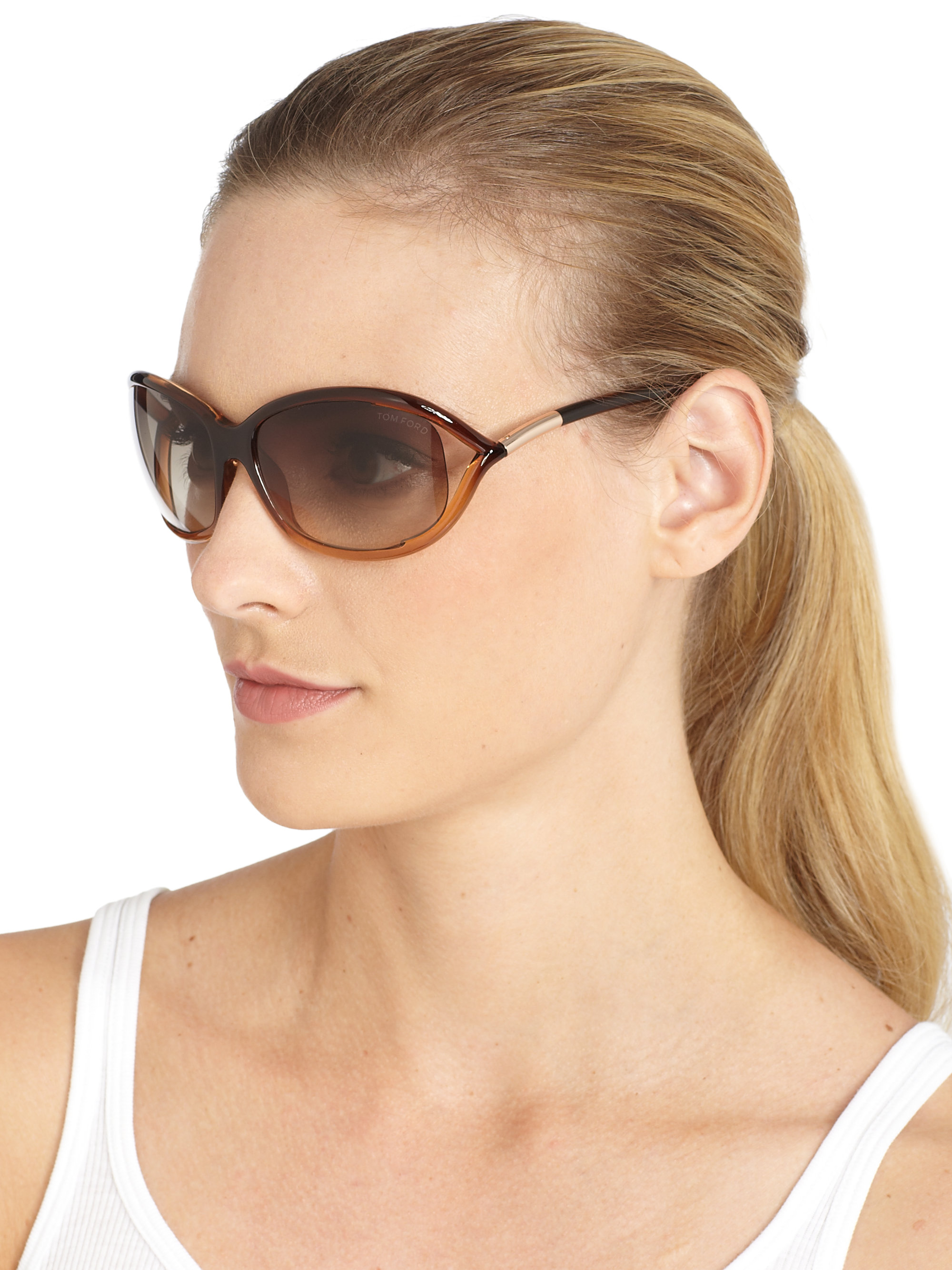 cb1cca7065 Tom Ford Jennifer Sunglasses Brown