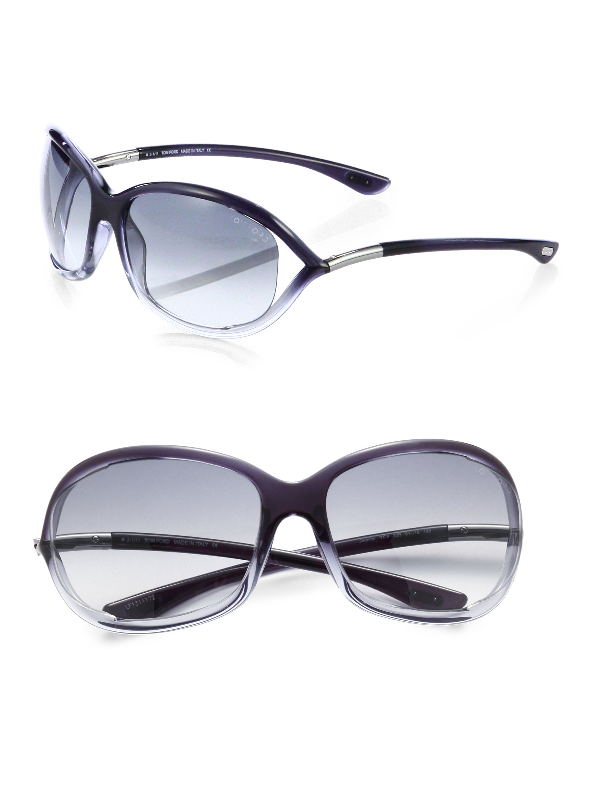87aeaee3486 Gallery. Previously sold at  Saks Fifth Avenue · Women s Tom Ford Jennifer  Men s Rectangular Sunglasses ...