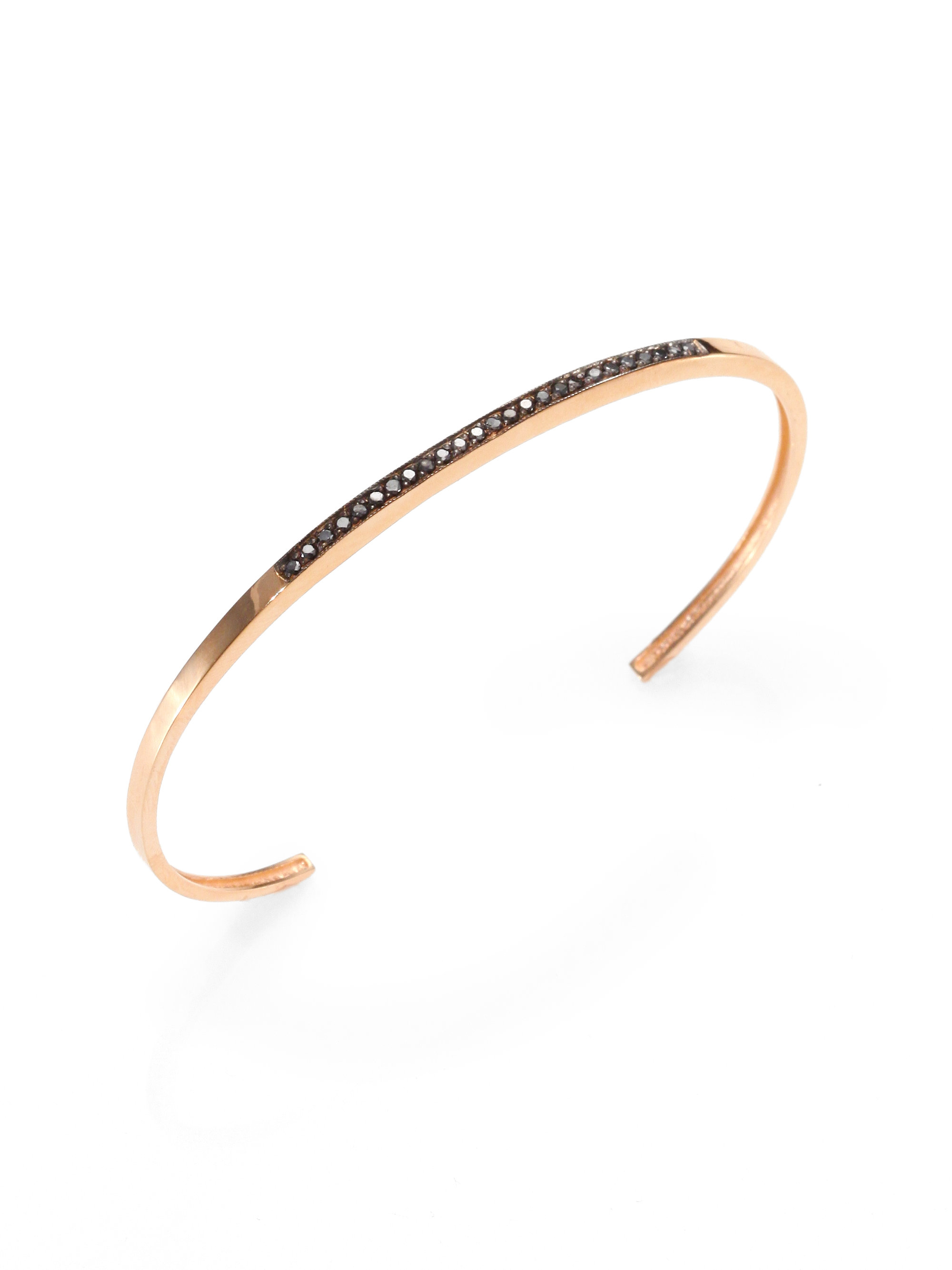 rose edit bangles karat bracelets bangle diamond gold bracelet