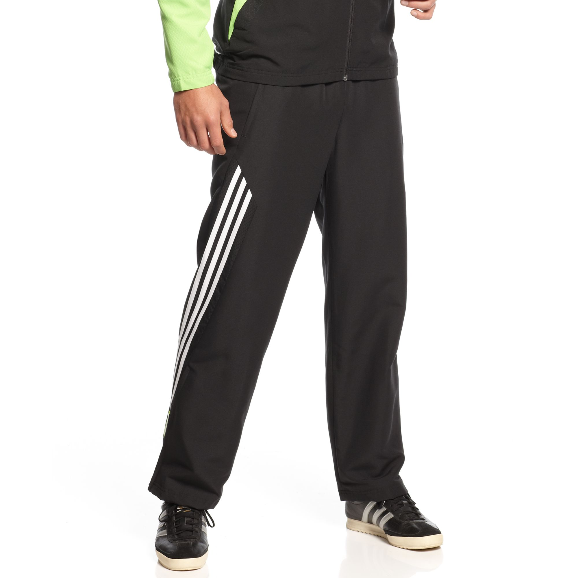 e32664c0c ... get lyst adidas predator climacool soccer pants in black for men d750d  4463a
