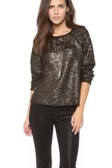 Alice + Olivia Mayer Boxy Raglan Top - Lyst