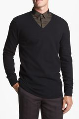 Hugo Saral V-neck Sweater - Lyst