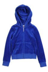 Juicy Couture Hooded Sweatshirt - Lyst