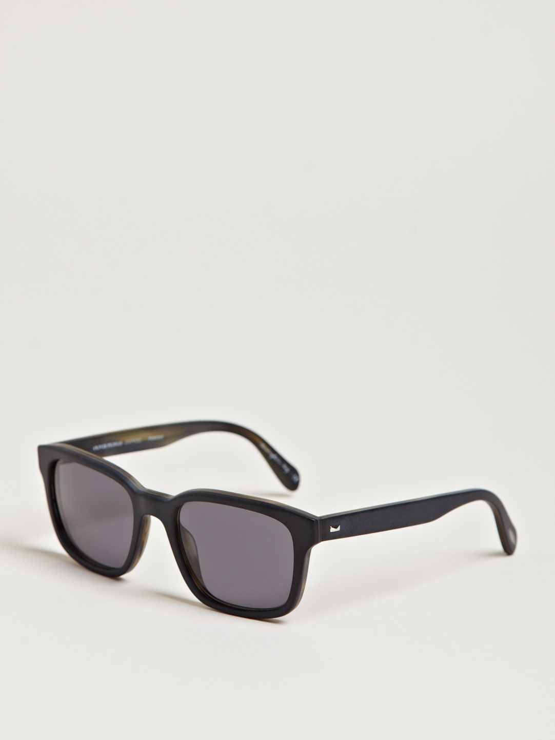 fe57cb77aea Lyst - Oliver Peoples Womens Wyler Sun Matte Black With Grey Polar ...