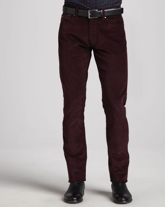 Ralph Lauren Black Label 5pocket Corduroy Pants Wine - Lyst