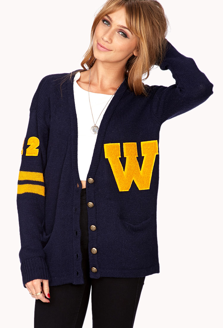 Design Custom Cardigans & Varsity Sweaters in our Online Designer. No Mins or Set Up Fees. Custom cardigans and varsity sweaters are a classic addition to any wardrobe. Embroider your logo or design to create a professional look for schools, businesses or organizations of any size, with quantity discounts and no minimums. Womens Cardigan.