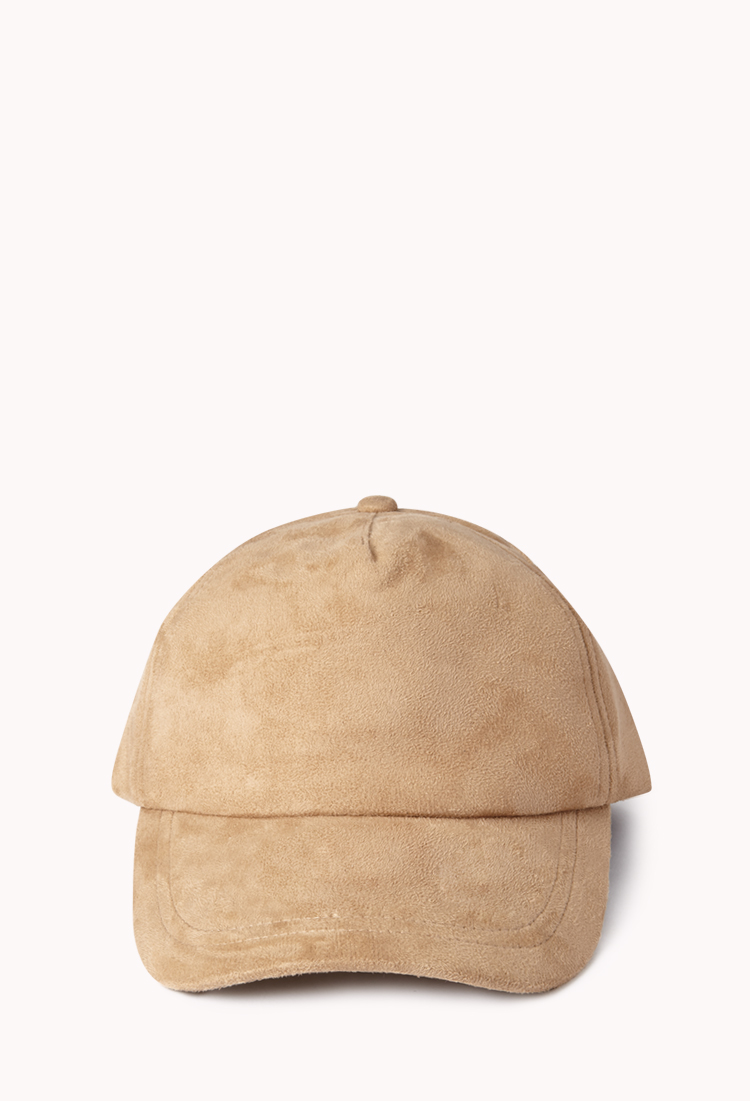 2bc893a9ec591 Forever 21 Minimalist Baseball Cap in Natural - Lyst