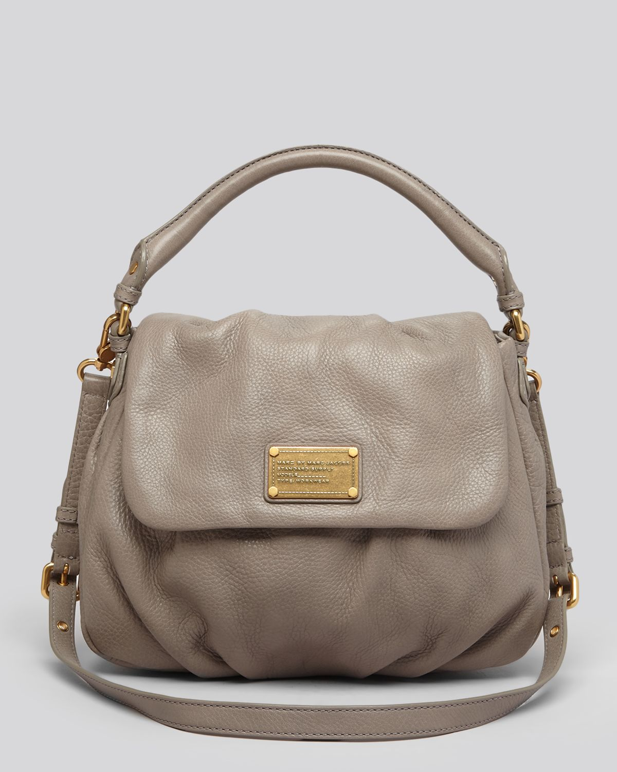 922edf649c Marc By Marc Jacobs Satchel Classic Q Lil Ukita in Natural - Lyst