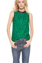Tibi Sleeveless Top - Lyst