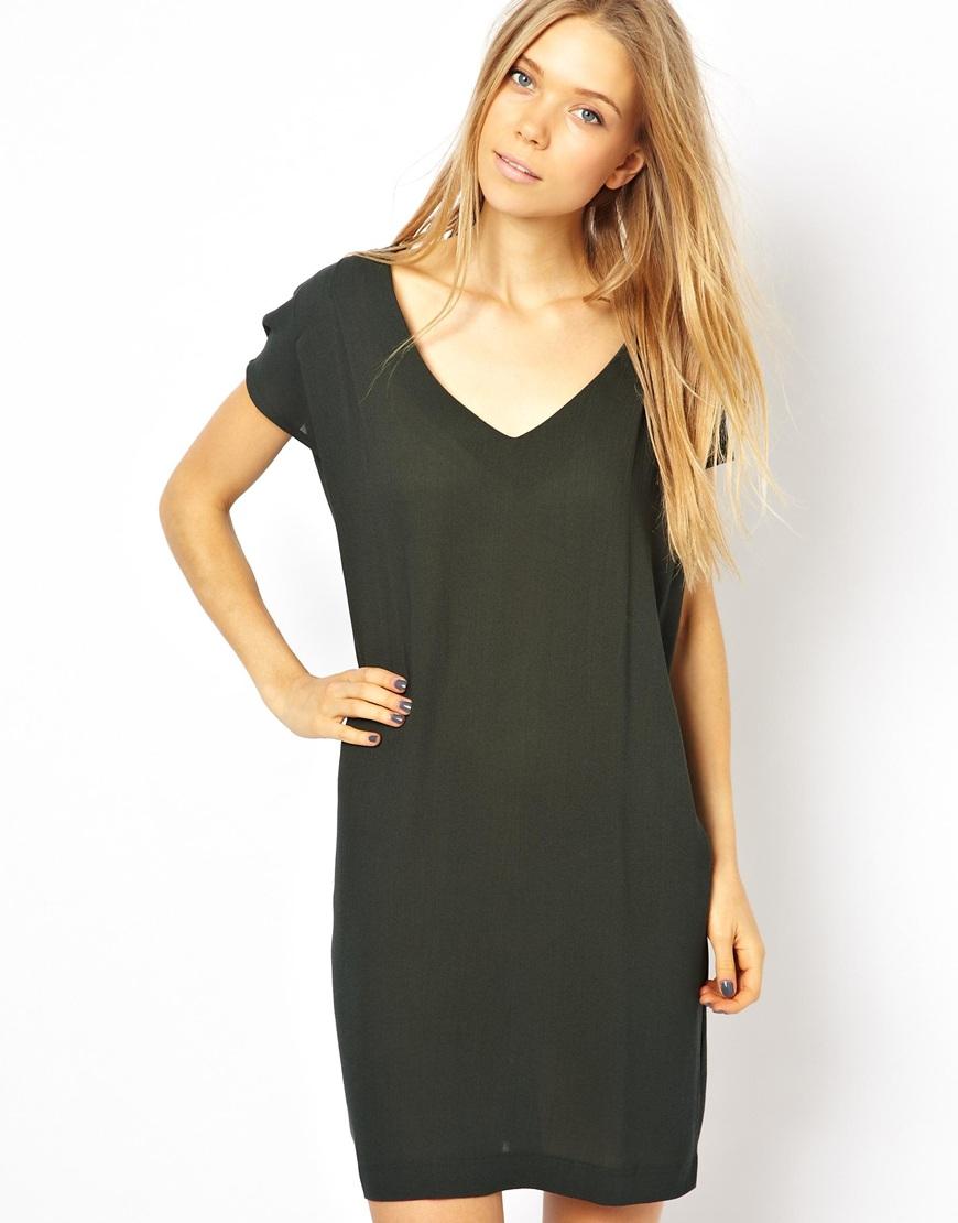 American vintage black dress