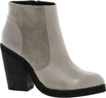 Asos Articulate Leather Ankle Boots - Lyst