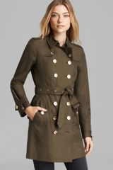 Burberry Chisworth Zip Trench Coat - Lyst